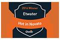 ETwater named Owler 'HOT in 2016' Winner in Novato, CA.