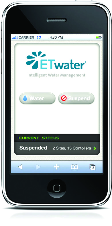 Smart irrigation means access anywhere, any time